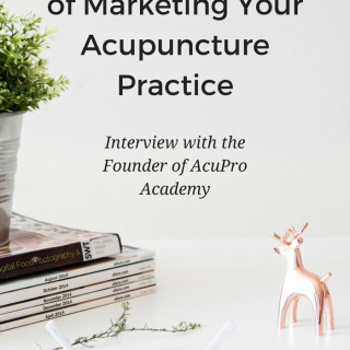 Learn about these crucial aspects of marketing your acupuncture practice and how you can use them to find and retain more patients. An interview with Clara, all-around superwoman and founder of AcuPro Academy. www.ModernAcu.com