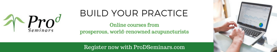 Build your acupuncture practice with expert advice from prosperous acupuncturists around the world. Online courses from ProDseminars.com