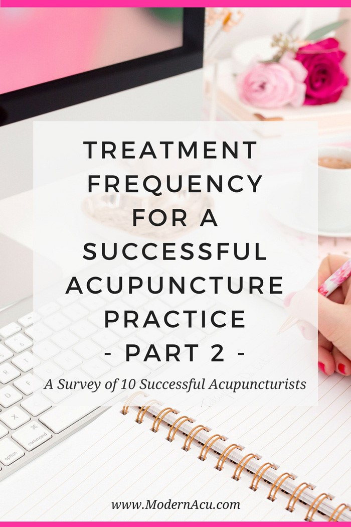 How often do experts recommend that you should treat your acupuncture patients for optimal results? Five more experts weigh in! www.MichelleGrasek.com