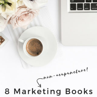 8 Marketing Books Every Acupuncturist Should Read... That Have Nothing to do with Acupuncture! My favorite books to kindle great ideas, get motivated, and make great things happen! www.michellegrasek.com